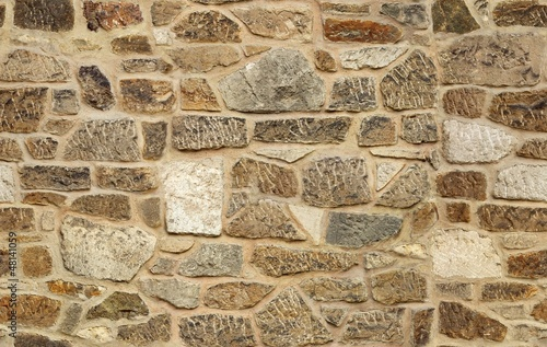 seamless ashlar old stone wall texture background
