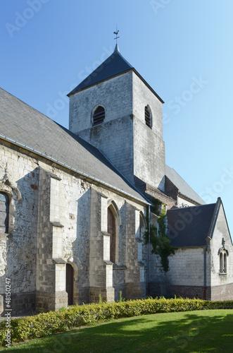 Obraz na plátně Eglise de Dannes  (-Pas de Calais )