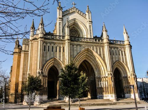 Catedral Nueva de Vitoria (Álava, España)