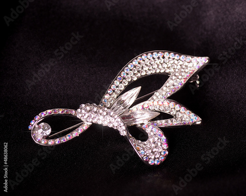 Photographie Beautiful jewelry on background