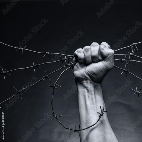 Fotografie, Obraz Breach of justice