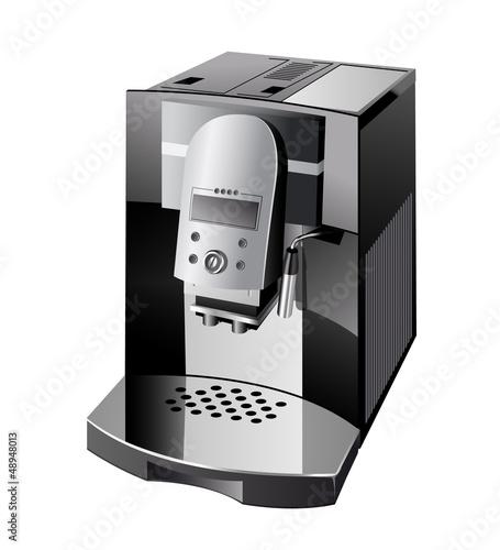 Canvas Print coffeemaker