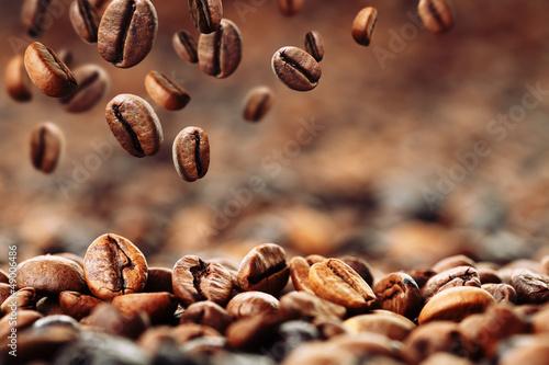 Kaffeebohnen 4 Fototapeta