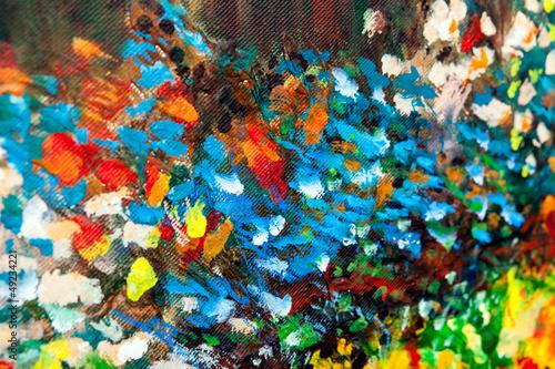Oil painted background V