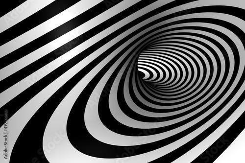 Spirala 3D abstrakcyjna