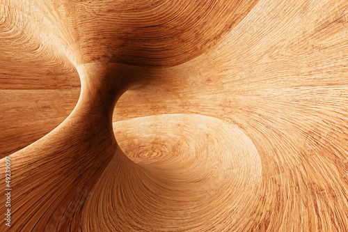 3D Abstract Wood Background