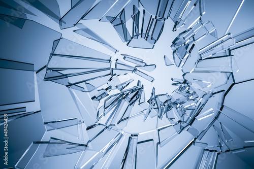 Carta da parati glass background