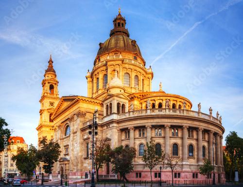 Fotografija St. Stefan basilica in Budapest, Hungary
