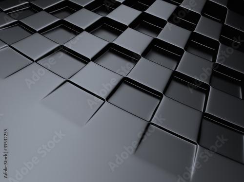 Chess metallic background