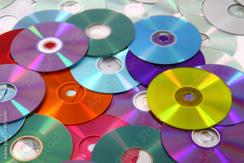 CD and DVD  technology background #49716690
