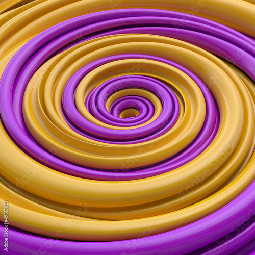 abstract funny candy spiral background