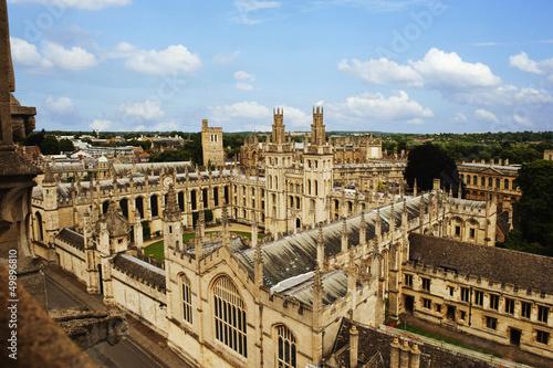 Stampa su Tela University building,Oxford University,Oxford,Oxfordshire,England