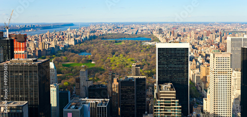 Central park, New York City. USA. Fototapete