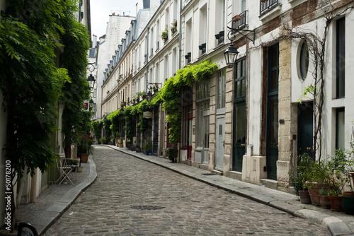 ruelle parisienne #50178200