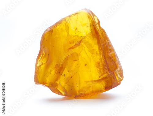 Canvas-taulu amber isolated