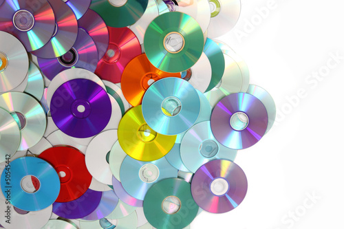 CD and DVD background #50545442