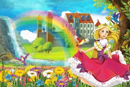 The fairy - Beautiful Manga Girl - illustration