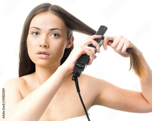 Photo lisser les cheveux