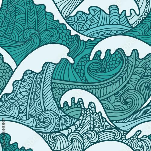 Wzór morza