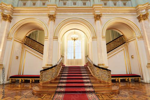 Fototapeta Great Kremlin Palace, small Georgievsky hall