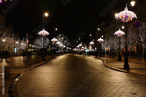 Varsavia mentre Natale - Polonia #51364296