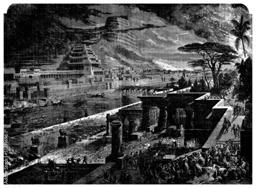 Fényképezés Conquest of Babylon (Antiquity) - Persia