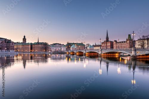 Canvas Print Stockholm view