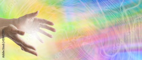 Fotografia Colour Healing website header