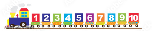 Train with numbers #51719834