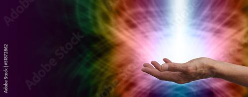 Fotografia Healing light Website Banner Head