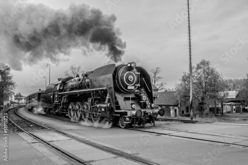Steam train #51915223
