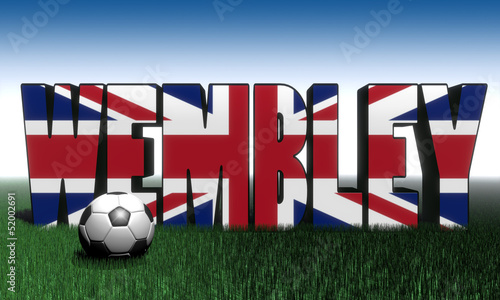 фотография Wembley Fußball