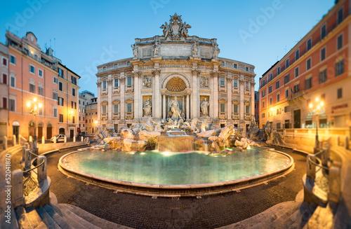 Vászonkép Fontaine de Trevi, Rome, Italie