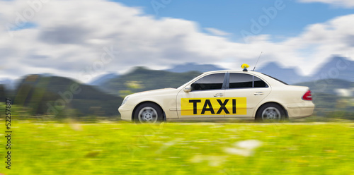 Taxi_04 Fototapete