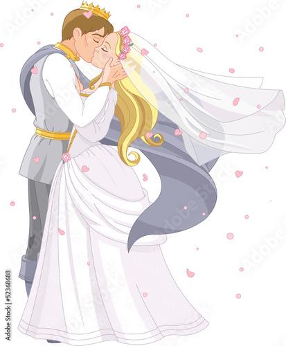 Wedding royal couple