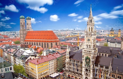 Fototapeta premium Monachium, Niemcy