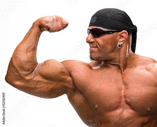 Tablou Canvas Portrait of bodybuilder