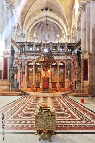 Stampa su Tela The Holy Sepulcher in Jerusalem