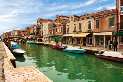 Canvas Print Murano island