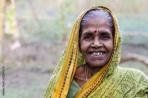 Old Indian Woman Fototapeta