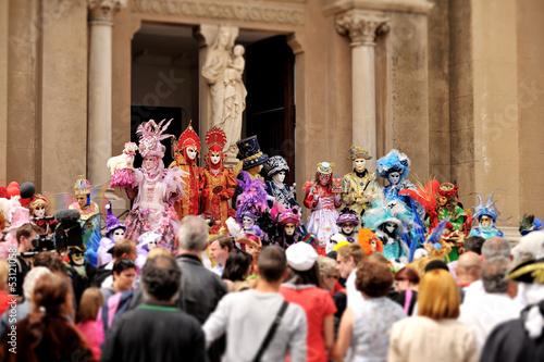 Obraz na plátně carnaval venise