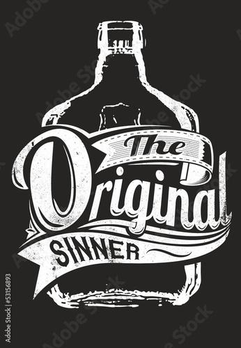 Photo The original sinner