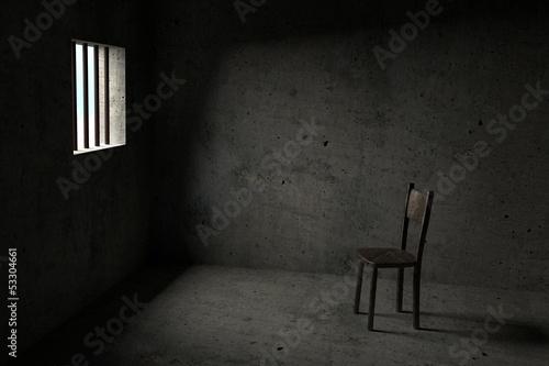 Wallpaper Mural Detained - 3D Prison