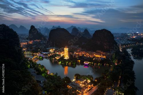 Fototapeta Guilin China