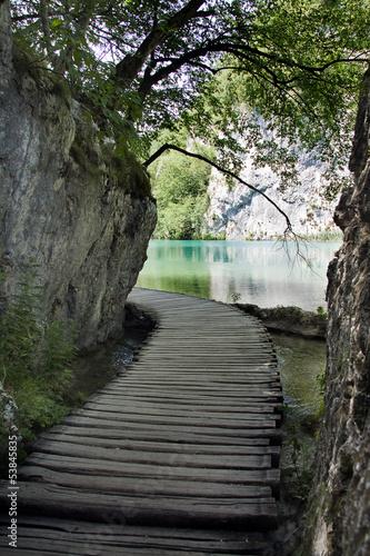 Beautiful landscape in Plitvice Lakes National Park, Croatia