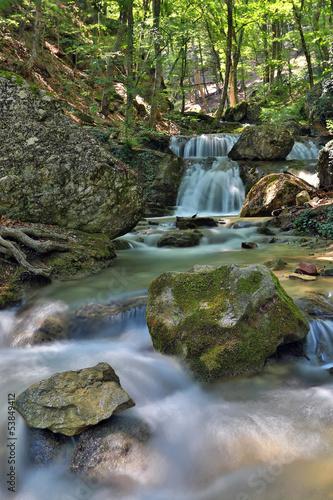 mountaim river