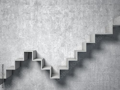 Fotografija 3d abstract stair