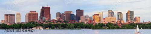 Fotografia Boston river view