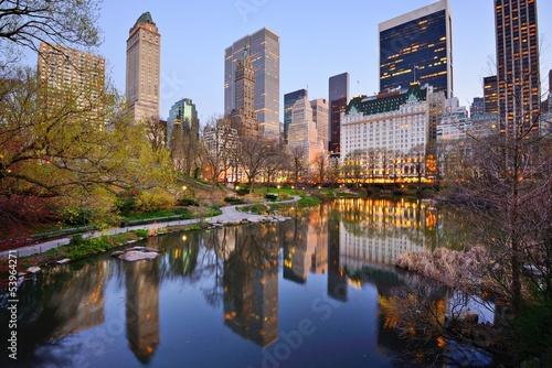 Fotomural New York City Central Park Lake