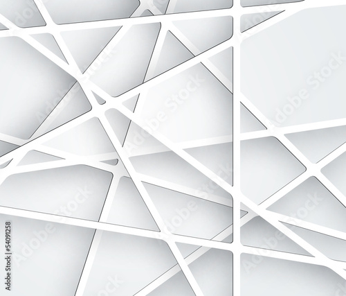 Abstract Futuristic Paper Graphics Backround